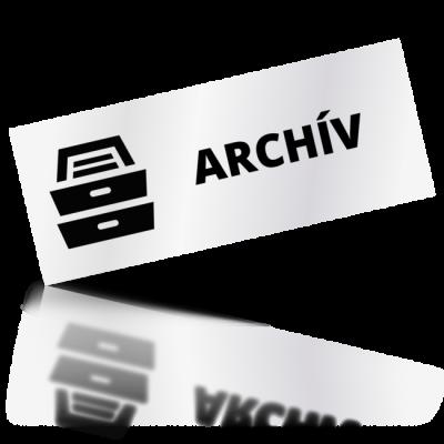 Archív - obdelníkové označení