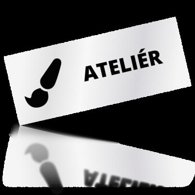 Ateliér - obdelníkové označení