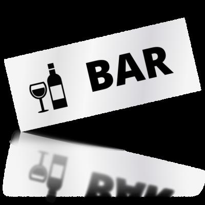 Bar - obdelníkové označení