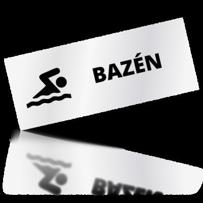 Bazén - obdelníkové označení