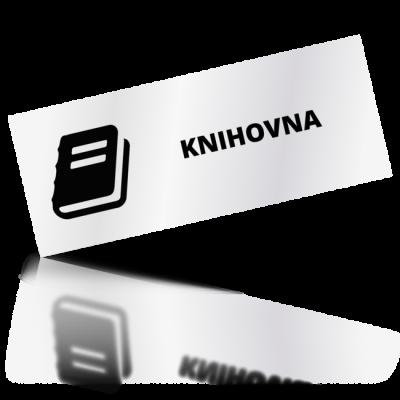 Knihovna - obdelníkové označení