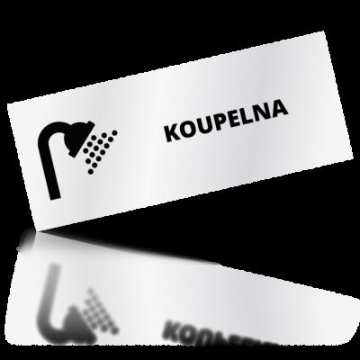 Koupelna - obdelníkové označení