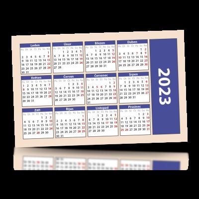 Kalendář 2022 kapesní 85x55 mm, od 200 kusů