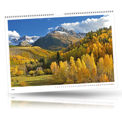 Kalendář 2022 nástěnný měsíční A3 (420x297) - od 1 kusu