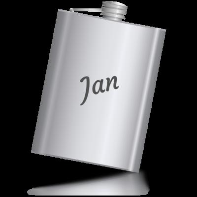 Jan - kovová placatka se jménem