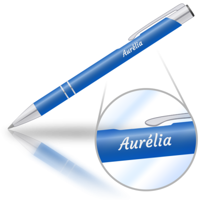 Aurélia - kovová propiska se jménem