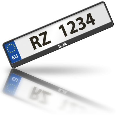 ILJA - rámeček na poznávací značku auta