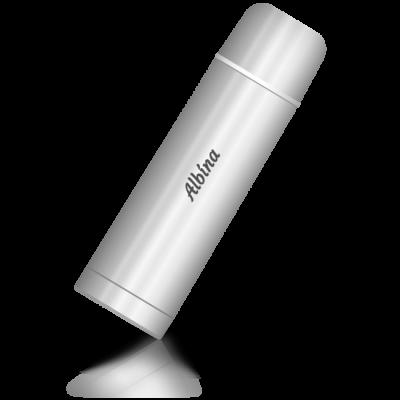 Albína - termoska se jménem