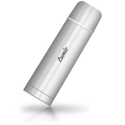 Lumír - termoska se jménem